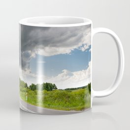 Biebrza road landscape Coffee Mug