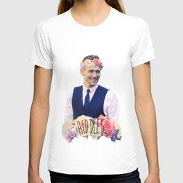 Tom Hiddleston FlowerCrown T-shirt
