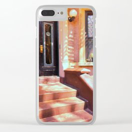 Brooklyn Stoop Clear iPhone Case