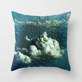 The Cloudcatcher Throw Pillow