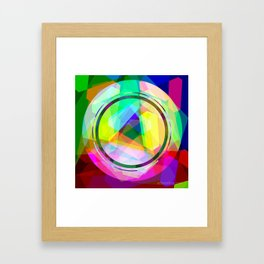 tricle 2015  Framed Art Print