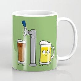 Beer Tap Trio Coffee Mug
