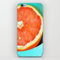 aelwen iPhone & iPod Skins featuring Grapefast by Xchange Art Studio