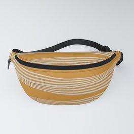 Wavy Stripes // Goldenrod Fanny Pack
