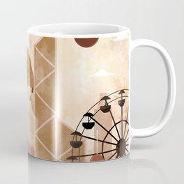 Hong Kong Travel Poster Illustration Coffee Mug