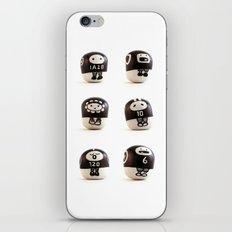 stoneheads 001 iPhone & iPod Skin