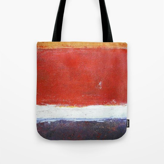 Mark Rothko Interpretation Acrylics On Paper Tote Bag