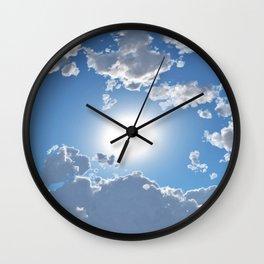 Beautiful Skies  Wall Clock