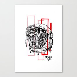 Floralnaut Canvas Print
