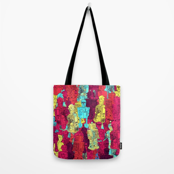 Mr. Robot, your screw is loose. Tote Bag