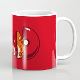 Poketryoshka - Fire Type Coffee Mug