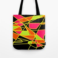 art deco Tote Bags featuring DECO by ..........