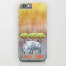 RHINO - FUN - rhinoceros Watercolor Illustration Slim Case iPhone 6s