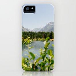 Gold Creek Pond iPhone Case