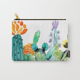 A Prickly Bunch Carry-All Pouch
