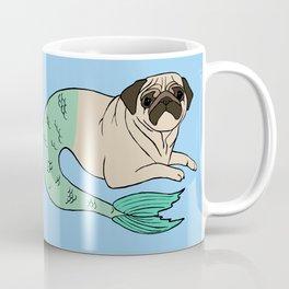 Merpug in Blue Coffee Mug