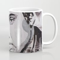 elvis Mugs featuring Elvis by Ross Collins Artist