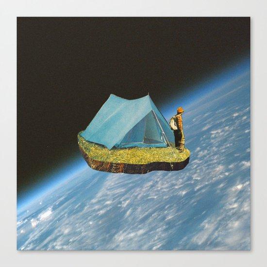 Space camp Canvas Print