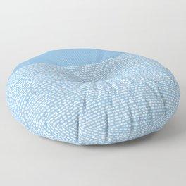 Riverside - Placid Blue Floor Pillow