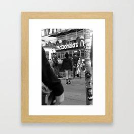 Mac Guarded Framed Art Print