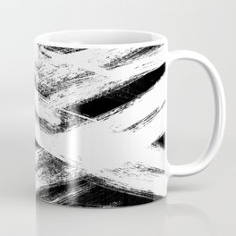 White brush Coffee Mug