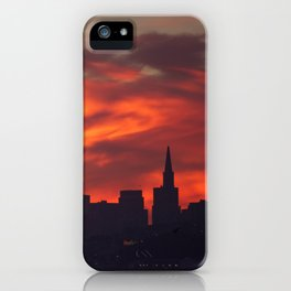 A Dragon over San Francisco iPhone Case
