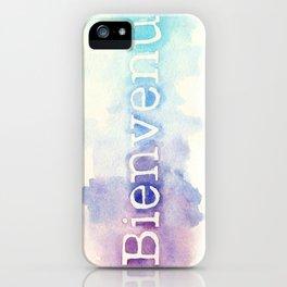 Bienvenu iPhone Case