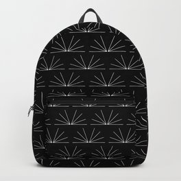 Boho Pattern 18 Bw Backpack