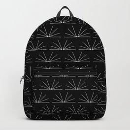 Boho Pattern 18 Bw Backpack