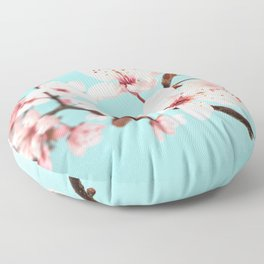 Spring Flowers Floor Pillow