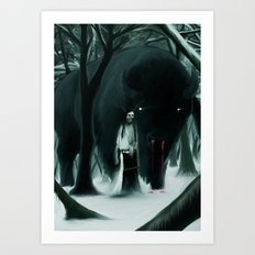 Ghosts Of The Past Art Print