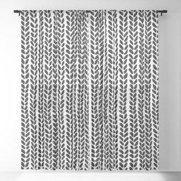 Knit Wave 2 Sheer Curtain
