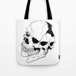 Skull (Fragmented and Conjoined) Tote Bag