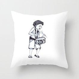 Ra Pa Pum Pum Throw Pillow