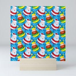 Costumes for Santa Mini Art Print