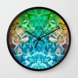 Lava Rock Explosion Wall Clock