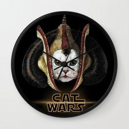 Cat Wars Amidala Wall Clock