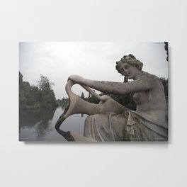 Statuesque Metal Print