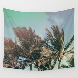 Vintage Palm Hawaii Summer Daze Wall Tapestry