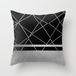 Silverado: Black Throw Pillow