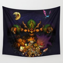 A treasure for Halloween Wall Tapestry