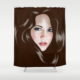 Dagger Shower Curtain