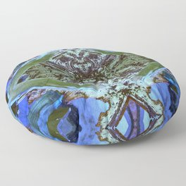 Ceiling Tile (Abstract) Floor Pillow