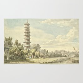 Pagoda at Kew Rug