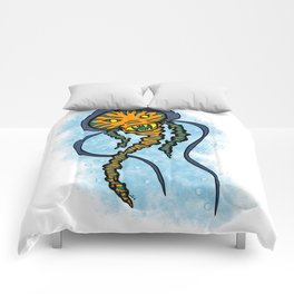 The Caped Jelly Comforters