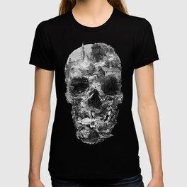 Town Skull B&W T-shirt