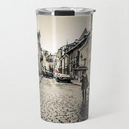 Street in Tallinn Travel Mug