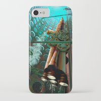 steam punk iPhone & iPod Cases featuring Steam Train Punk by Goodson Productions
