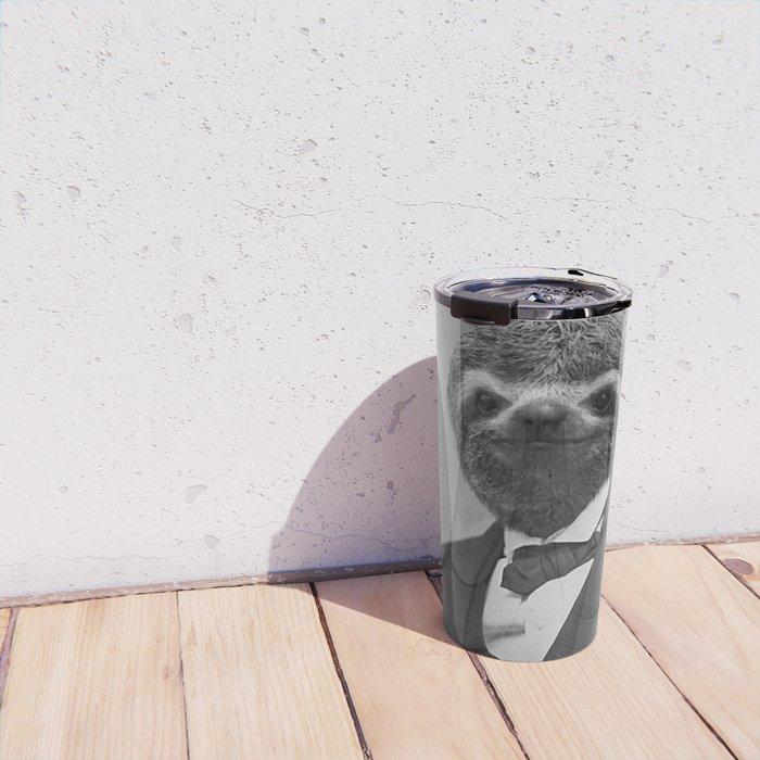 Gentleman Sloth 12 Travel Mug