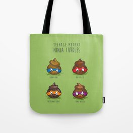 Turdles (Not in Half-Shells) Tote Bag